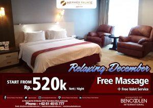 Iklan Hermes Hotel Medan