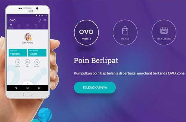 Manjakan Masyarakat Aplikasi OVO Permudah Transaksi