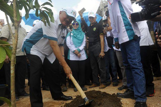 Resmikan Kebun Raya Sriwijaya, Gubernur Sumsel Minta Dikelola Dengan Baik