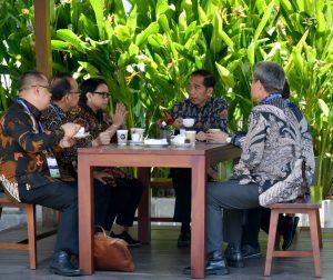 Rehat Sejenak, Presiden Seruput Kopi Indonesia