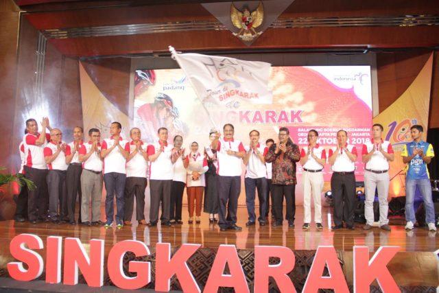 Launching Tour de Singkarak 2018 'One Decade For All'