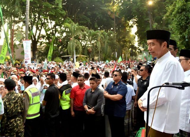Presiden Jokowi Ajak Para Pemuda Bergandeng Tangan Majukan Indonesia