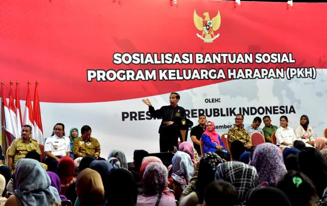 Presiden Minta Penerima PKH Manfaatkan dengan Betul Bantuan Sosial Pemerintah
