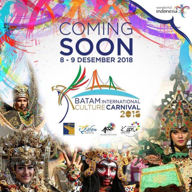 Batam International Culture Carnival 2018 Siap Hentak Batam