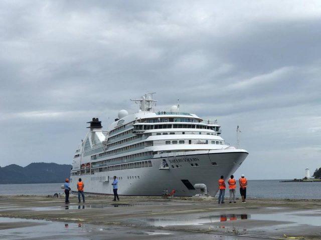 Kapal Pesiar Seabourn Sojourn Kunjungi Sabang