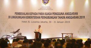 Menhub Targetkan PNBP Kementerian Perhubungan Tahun 2019 Naik