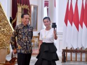 Presiden Ngevlog Bareng Agnez Mo, Bicara Mimpi Generasi Muda