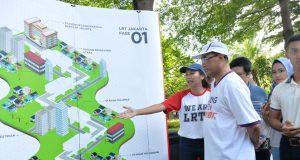 PROGRES CAPAI 99,4%, LRT JAKARTA RUTE KELAPA GADING - VELODROME BEROPERASI MARET