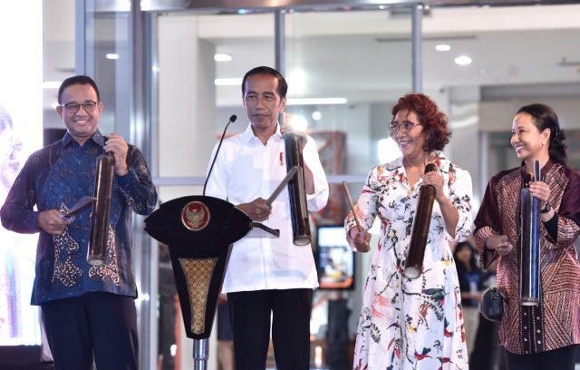 Presiden Resmikan Pasar Ikan Modern Muara Baru