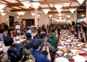 Presiden Jokowi Buka Puasa Bersama Wartawan
