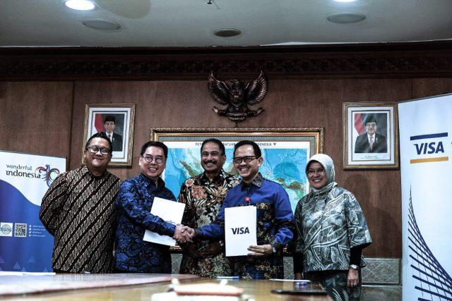 Kemenpar Gandeng Visa Promosikan Wonderful Indonesia
