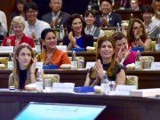 Pesan Ibu Negara pada Simposium Ocean, a Precious Resources for Our Lives