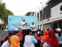 Jangkau Milenial, Balmon Surabaya Gelar Sosialisasi di CFD Banyuwangi