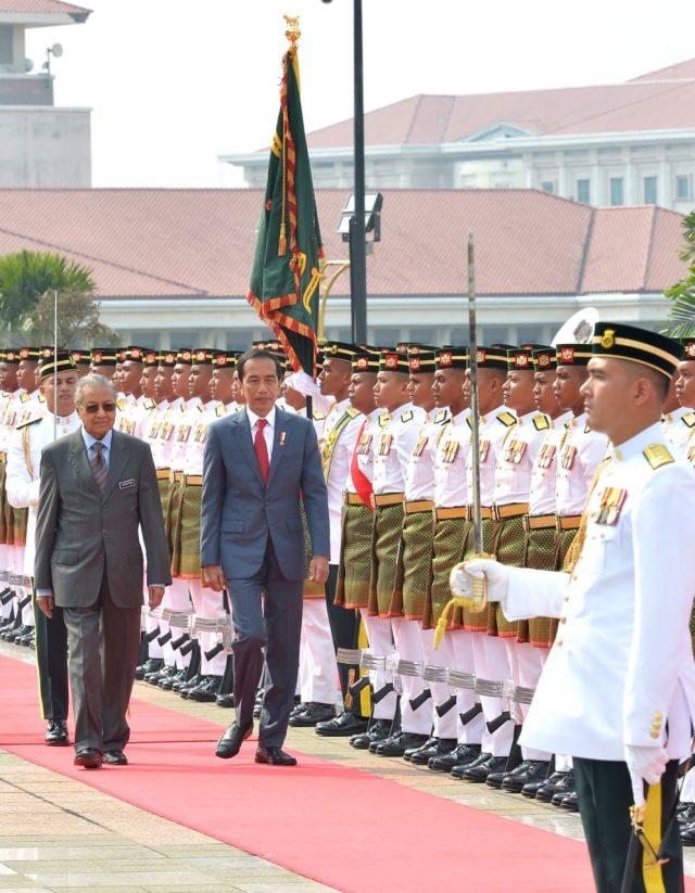 Presiden Jokowi Akan Disambut Upacara Resmi Sebelum Bertemu PM Mahathir
