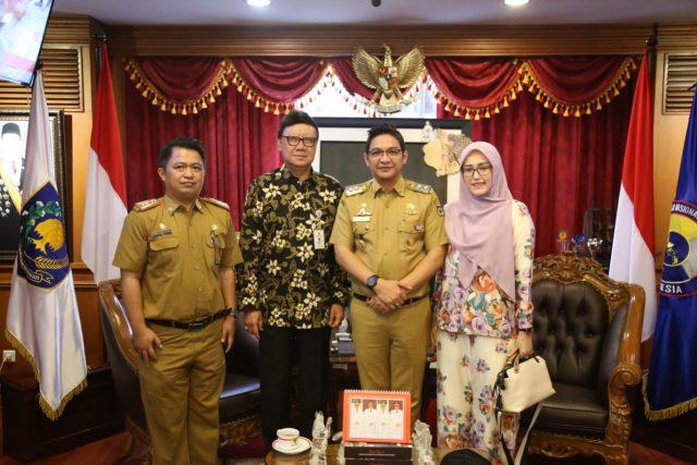 Bertemu Mendagri, Wakil Walikota Palu Sampaikan Dukungan Pemerintah dalam Pembangunan Kota Palu