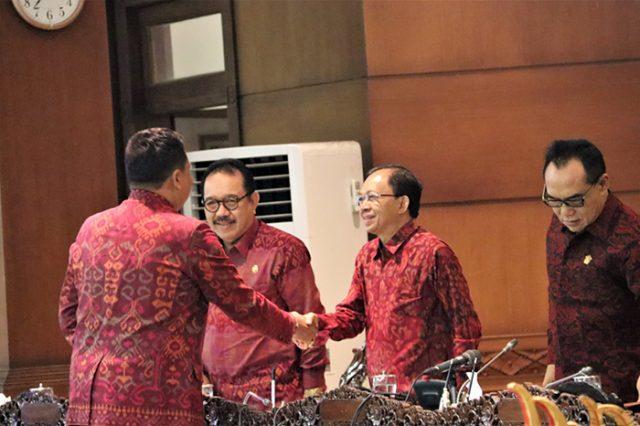 Gubernur Bali Ingin Arsip Pemprov Bali Tertata Rapi Dengan Teknologi Digitalisasi
