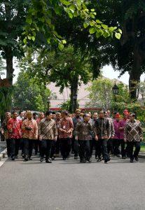 Presiden Jokowi Bersilaturahmi dengan para Pemenang Festival Gapura Cinta Negeri