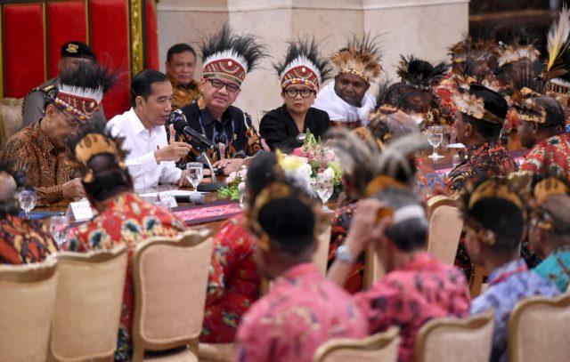 Presiden Jokowi Kaji Usulan Pemekaran Wilayah di Papua dan Papua Barat