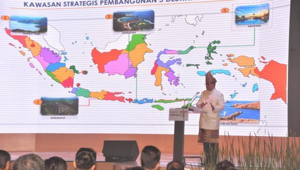 Kemenhub Anggarkan Rp. 2,9 Triliun Kembangkan 5 Destinasi Pariwisata Super Prioritas