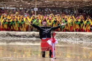 Panggung Lumpur Festival Taliwang 2019 Tampil Spektakuler untuk Tarik Investor ke NTB