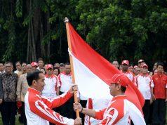 Presiden Jokowi Lepas Kontingen Indonesia ke SEA Games Filipina