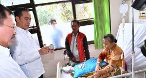 Presiden Jokowi Sidak Pelayanan BPJS di Subang