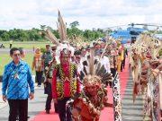 Sambutan Hangat Warga dalam Kunjungan Perdana Presiden Jokowi ke Malinau