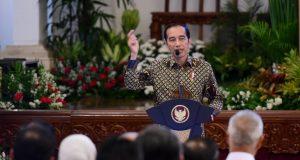 Presiden Joko Widodo: Enggak Apa Nebeng Sobat Ambyar Buat Bumikan Pancasila