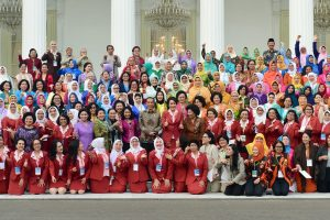 Buka Kongres Kowani, Presiden: Bangsa ini Butuh Peran Besar Kaum Ibu untuk Wujudkan Indonesia Maju