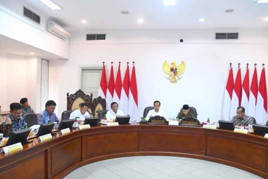 Presiden Jokowi Instruksikan Pembenahan Manajemen Logistik dan Pengelolaan Cadangan Beras
