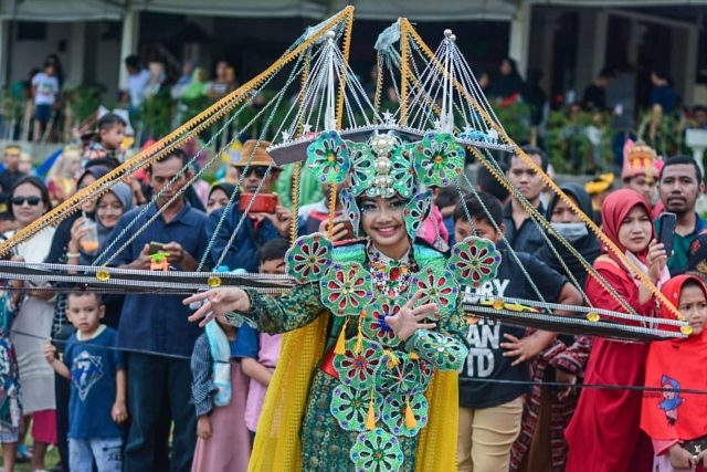 Atraksi Budaya Sukses Pikat Wisatawan dalam Ajang Batam International Culture Carnival 2019