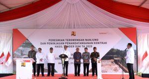 Resmikan Terowongan Nanjung, Presiden Jokowi: Efektif Kurangi Dampak Banjir di Bandung Selatan