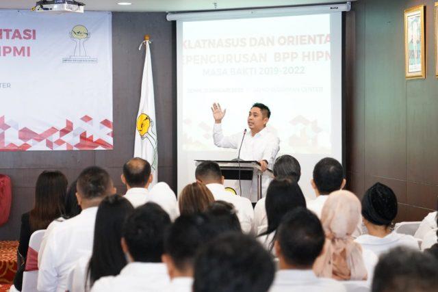Sebelum Dilantik Presiden Jokowi 15 Januari 2020, HIPMI Adakan Diklatnasus dan Orientasi Kepengurusan BPP HIPMI 2019-2022
