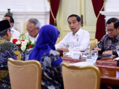 Presiden Evaluasi Penanganan Bencana dengan Sejumlah Kepala Daerah