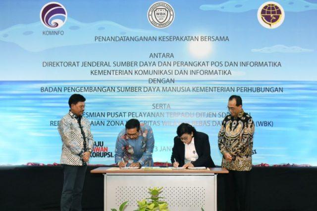 Ditjen SDPPI dan BPSDM Kemenhub Jalin Kerja Sama Tingkatkan Kompetensi Nelayan di Bidang Frekuensi