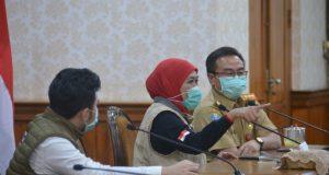 Gubernur : Tiga Pasien Positif Covid-19 Jatim, Kembali Dinyatakan Sembuh