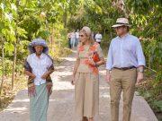 Raja dan Ratu Belanda Kagum dengan Keindahan Danau Toba