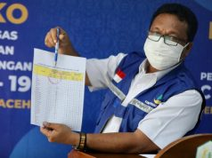 Jumlah Positif Covid-19 di Aceh Tidak Bertambah, Tetap Lima Orang