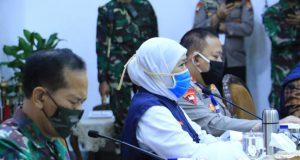 Tiga Hari Pertama PSBB ; Gubernur Jatim : Tahap Himbauan dan Teguran Jika Melanggar Aturan halo indonesia