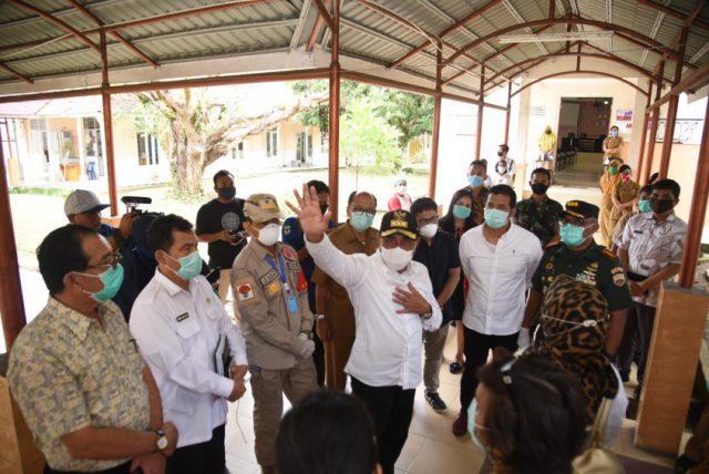 Tinjau RSUD dr Djasamen Saragih, Gubernur Minta Dandim dan Kapolres Bantu Para Medis