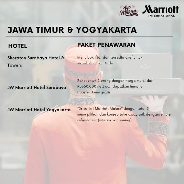Semangat Ramadan bersama Marriott International Indonesia