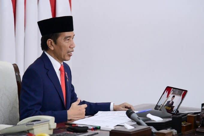 Presiden Jokowi Resmikan Peluncuran Produk Ristek dan Inovasi untuk Penanganan Covid-19 halo indonesia