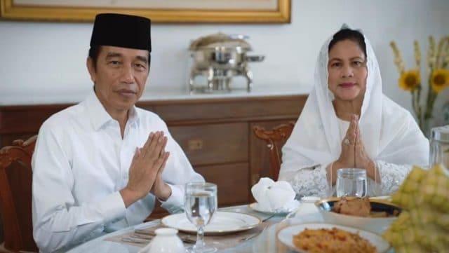 Presiden Jokowi dan Ibu Negara Ucapkan Selamat Idulfitri