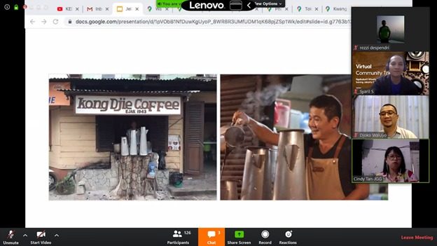 Kemenparekraf Ajak Wisatawan Berwisata Kopi di Jakarta Secara Virtual halo indonesia