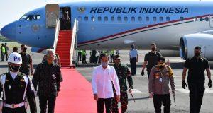 Kunjungan Kerja Sehari ke Jawa Tengah, Presiden Tinjau Posko Penanganan Covid-19 hingga Proyek Padat Karya halo indonesia