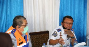 DIRJEN HUBDAT APRESIASI UPAYA PENYEKATAN YANG DILAKUKAN PETUGAS LINTAS INSTANSI halo indonesia