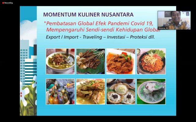 Pelaku Kuliner Didorong untuk Cepat Beradaptasi di Masa Normal Baru halo indonesia