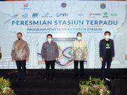 Stasiun Terpadu Wujud Kolaborasi Demi Layanan Transportasi Umum Terintegrasi halo indonesia