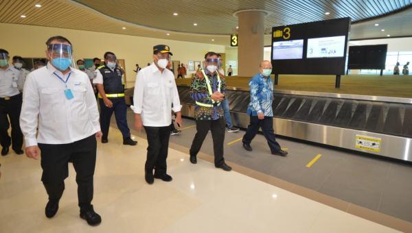 Menhub Cek Penerapan Protokol Kesehatan Sektor Transportasi di Jogja dan Solo halo indonesia