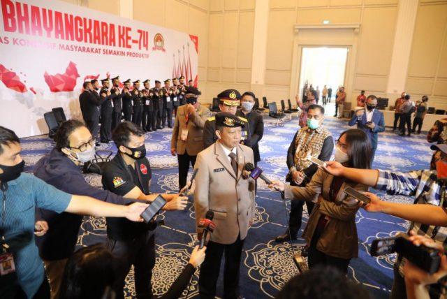 HUT Bhayangkara Ke-74, Mendagri Harap Polri Selalu Solid halo indonesia